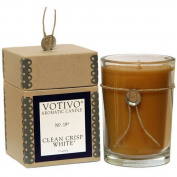 Votivo Clean Crisp White Aromatic Candle - 200ml by Votivo