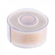 Eyes Beauty Tool Double Eyelid Tape Adhesive Stickers 150 Pairs Khaki
