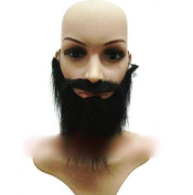 Funny Costume Fancy Party Halloween Fake Beard Moustache Moustache Facial Hair