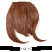 Neitsi® Synthetic Clip-In Bangs Hair Extensions Fake Front Full Hair Pieces Bangs