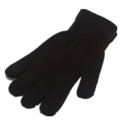 It's Ridic! Warm touchscreen / texting winter gloves - Black