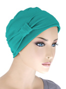 Double Layered Comfort Cotton Chemo Sleep Cap & Headband Beanie Hat Turban for Cancer
