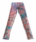 FITMAMA Women's Digital Snake-Skin Printed Legging