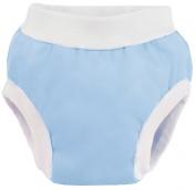 Kushies Baby PUL Training Pant, Blue, Medium