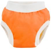 Kushies Baby PUL Training Pant, Orange, Small