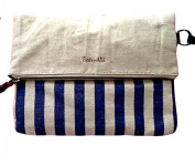 Splendid Maldives Large Clutch Canvas Handbag