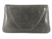 Loni Womens Attractive Large Real Leather Clutch Bag/Shoulder Bag Wedding Party Occasion Bag