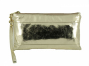 Loni Womens Adorable Patent Clutch Bag Wallet Purse for Women with Detachable Wrist Strap
