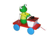 ABA Pull-Along Frog Musician Cart with Xylophone