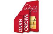 Virgin Dual SIM Card.