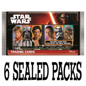 Topps Journey To Star Wars The Force Awakens - 6 booster packs