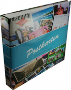 Postcard album incl. 50 pocket sheets for 12 postcards per sheet, B-design