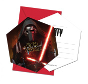 Unique Party Star Wars 7 Party Invitations