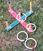 Selections Delux Quoits Garden Ring Toss Game