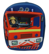 Fireman Sam Children's Backpack, 8 Litres, Blue SAM001034