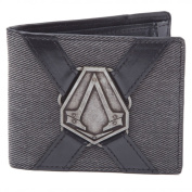 Assassin's Creed Syndicate Wallet with Metal Badge