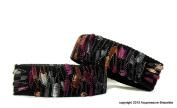 Designer Anti Nausea Bracelets (pair) Magenta Magic