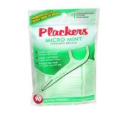 Plackers Plackers Dental Flossers, Micro Mint 90 each