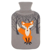 Large 2 Litre Soft Cute Hot Water Bottle Knit Cover - ONLY Cover