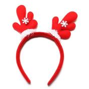 #4 Christmas Santa Snowflakes Headband Hair Band Accessories by 24/7 store