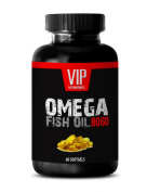 Fish Oil 8060 Strength Supplement - With DHA and EPA Fatty Acids Extra Strength