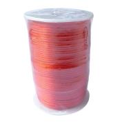 LanShi 2mm x 100 yards Rattail Satin Nylon Trim Cord Chinese Knot Red