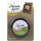 Deco Art Metallic Lustre Wax Finish, 30ml, Lavish Green