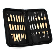 DN Ceramic Clay Pottery Tools Sculpting Kit Set For Drilling Hole Carving Pack Of 14