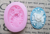 Rose Flower Arylic Resin Flower Silicone Mould,fondant Moulds,sugar Craft Tools,chocolate Mould ,Soap Candle Moulds for Cakes