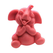 Lingmoldshop Elephant C376 Craft Art Silicone Soap Mould DIY Candy Mould Craft Moulds Handmade Candle Moulds