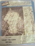 Vintage Bucilla Needlework Kit for Smiley the Clown Doll Kit 2688