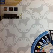 Decor Canvas Starter Set ~ Pre-printed ~ 10 Piece Paint Kit