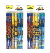 Despicable Me Minion Pencils 24 Pieces