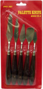 The Art Shop Skipton Palette Knife Set Of 5 , Palette Knives - 5 Sizes