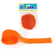 Flomo SM14 25m x 4.5cm . Orange Crepe Streamer Case of 36