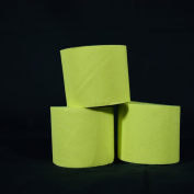 Quasimoon Light Lime Green Crepe Paper Streamer Party Decorations (60m Total, 3 Pack) by PaperLanternStore