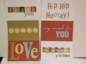 The Paper Loft Flip Flops *Celebrate* Cardstock Title Blocks