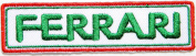 Ferrari Logo Sign Sport Car Racing Patch Sew Iron on Applique Embroidered T shirt Jacket Costume Gift BY SURAPAN