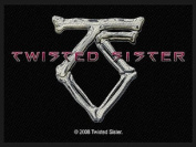 "Band ""Twisted Sister"" Bones Logo Hard Rock Metal Apparel Sew On Applique Patch"
