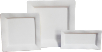 South Beach Serving Dish Set - Fusible Glass Slumping Moulds