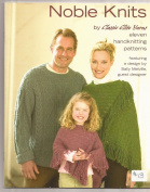 CEY Noble Knits - Classic Elite Yarns Knitting Pattern Book no.9065