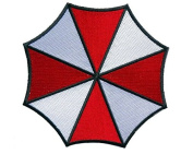 Resident Evil Small Umbrella Corporation Logo Shoulder Patch, NEW 7.6cm Iron Sew On