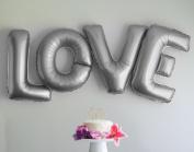 Love Letters 100cm Large Foil Balloons - Wedding Party Decoration