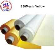 3 Yards 250 Mesh 130cm (1.27m) Width Silk Screen Printing (3 yards 250 mesh