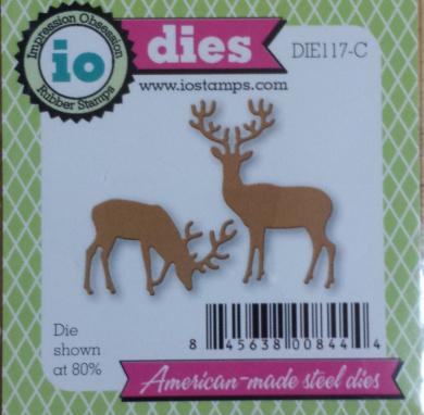 Small Deer Set Steel Die for Scrapbooking (DIE117C)