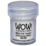 Wow Embossing Powder WOW! Embossing Powder, 15ml, White Puff Twinkle