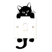 Cat Wall Stickers Light Switch Decals