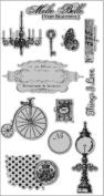 Hampton Art 7g Molto Bello Cling Rubber Stamp