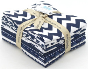 Riley Blake BASICS VARIETY NAVY 12 Fat Quarters Quilt Fabric FQ-21-12