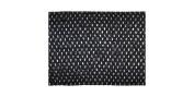 Belagio Enterprises 15cm Crochet Headband Trim 10 Yards, Black